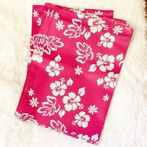 Other - Polymailers • Pink Hawaiian Floral • 10 x 13